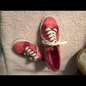 Pink Michael Kors Sneakers